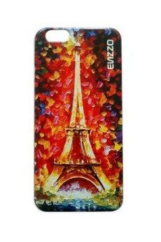 ENZZO - Etui do iPhone 6 Eiffel Tower +folia+chusta z mikrofibry