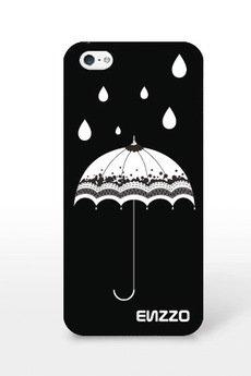 - Etui do iPhone5/5s Umbrella+folia+chusta z mikrofibry