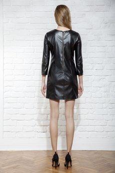 JO-LI - Sukienka z imitacji skóry