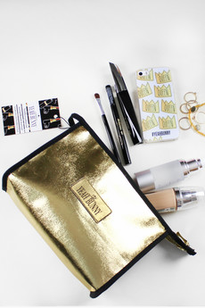Yeah Bunny - MAKE UP BAG 'GOLDEN EYE' - YEAH BUNNY