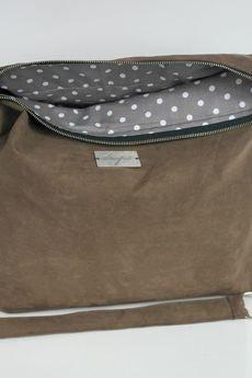 drops - brązowa torba