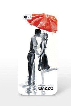 ENZZO - Etui do iPhone5/5s LOVE+folia+chusta z mikrofibry