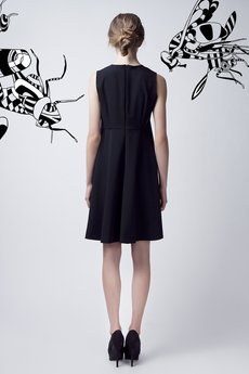Luiza Kimak - Czarno-biała sukienka