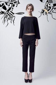Luiza Kimak - Czarne spodnie trzy czwarte