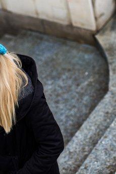 MALENKA HEADWEAR - COLD WINTER CITY czapka ręcznie robiona