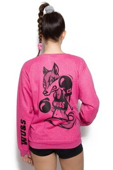 Wake Up & Squat GYMWEAR - TRENINGOWA BLUZA