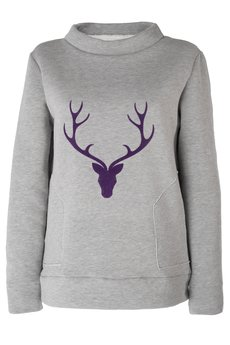 FOR HEART - Bluza Deer - my Dear!