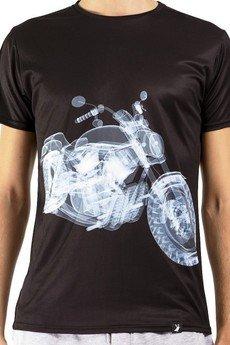 GAGABOO - 'X-ray Bike' termoaktywny T-shirt męski