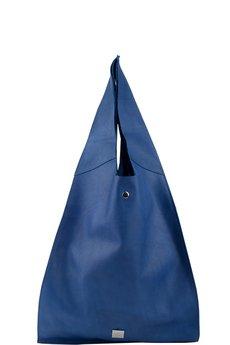 me&BAGS - Skórzana torebka shopper bags me 11 - kobalt