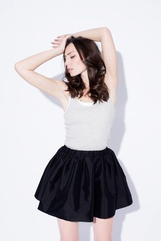 BLACKBOW - BOW SKIRT