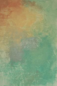 """Strefa koloru - Kasia Puchowska - Obraz abstrakcyjny """"Budyniowy spokój"""" 100x70 cm."""