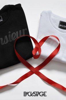 BACKSTAGE - LOVE set - walentynkowy zestaw bluz M&M