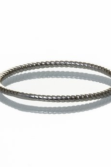 "Selfie Jewellery - Knuckle ring ""zakręcony"" ze srebra"