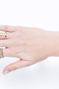"""Selfie Jewellery - Pierścionek """"jedynka"""" złocony"""