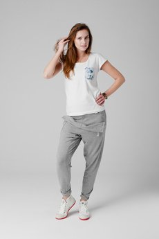- spodnie madoxy dresowe szare