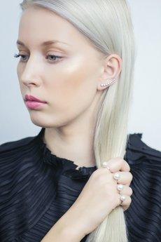 Selfie Jewellery - Pierścionek z perłą