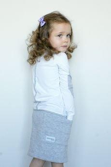 Guga Marie - Spódnica Navy Grey