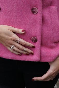 Selfie Jewellery - Bransoletka ze srebra i pereł