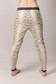 - spodnie baggy rurki printed obniżony krok ściągacze