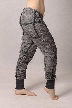 Non Tess - spodnie baggy undone metallic