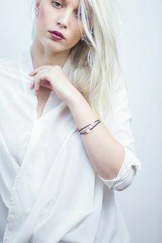Selfie Jewellery - Bransoletka z białą perłą
