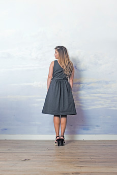 RISK made in warsaw - sukienka z tiulem CALINECZKA