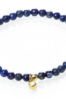 """Selfie Jewellery - Bransoletka """"full moon"""" z lapis lazuli"""