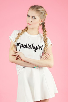 - T-shirt POLISHGIRL