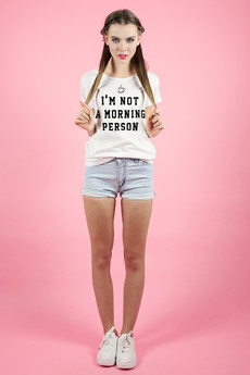 - Tshirt - I'm Not a Morning Person