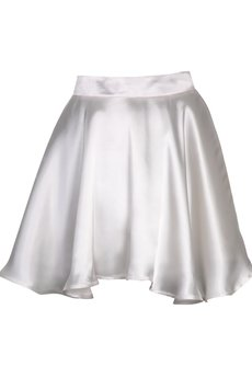 DIAMOND DUST - Biała asymetryczna spódnica