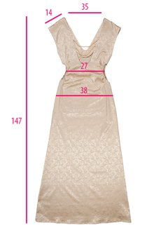 DIAMOND DUST - Złota suknia