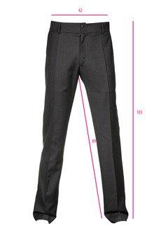 DIAMOND DUST - Granatowe spodnie