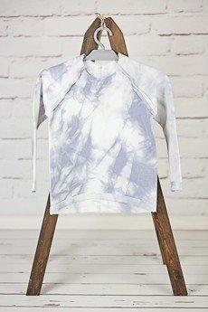 - Cieniowana bluzeczka z przeszyciami