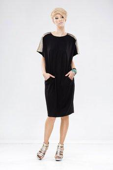 Sukienka unicorno czarny 2
