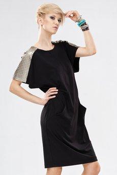 Sukienka unicorno czarny 3