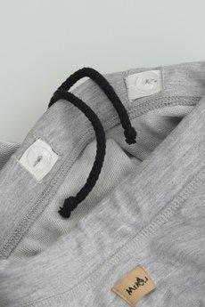 MeMola - BONITA SKIRT Spódnica dziewczęca z koła szary melange