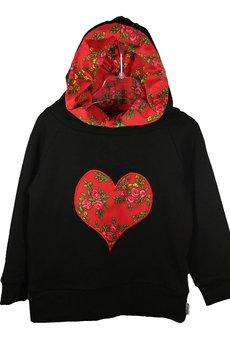 K 01 czarny czerwone serce