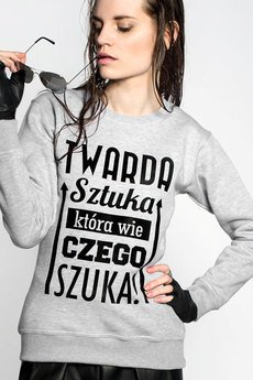 ŁAP NAS - Bluza Twarda Sztuka