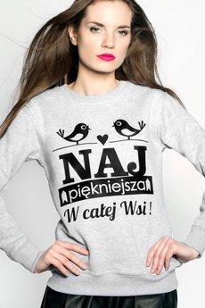 ŁAP NAS - Bluza Najpiękniejsza w Całej Wsi