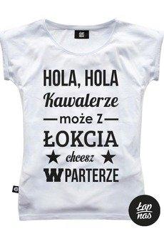 ŁAP NAS - Koszulka Hola Hola