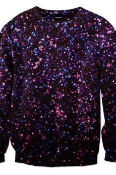 Glitter sweatshirt brainwash