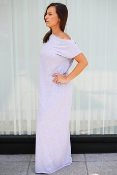 OH! YEJ - Sukienka LADY DRESS szara