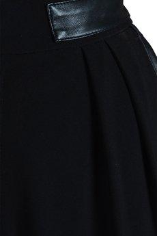 SAX35TH by Alicja Czarniecka - Czarne slimowane spodnie