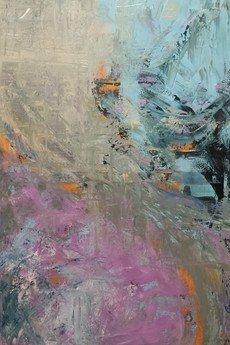 """- Obraz abstrakcyjny """"Energia koloru"""", 120x80cm."""