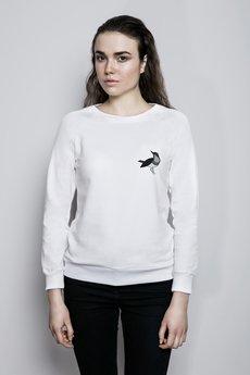 Bluza bia%c5%82a reglan modelka zwierzetapodrozniczek  maly