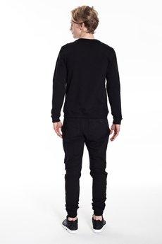 MALE-ME - Spodnie dresowe UNIVERSUM |CZARNE|