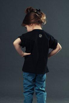 Koszulka dziecko czarna2