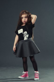 Koszulka dziecko czarna3