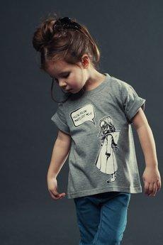 Koszulka dziecko szara