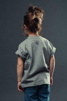 Koszulka dziecko szara2
